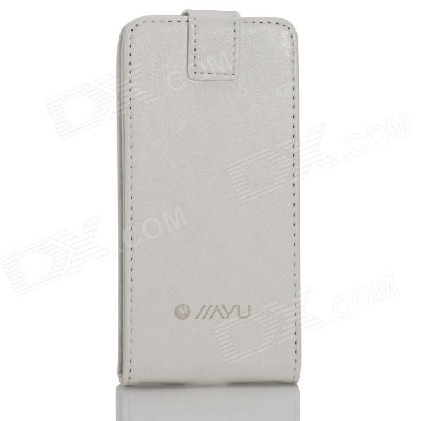 Flip Open Protective PU Leather Case Cover for G4 - White