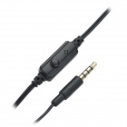 Havit HV-IP92M 3,5 øreplugger med Mini-mikrofon for IPHONE / IPAD - Darkgoldenrod + Black