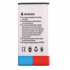 7800mAh 3.7V Li-ion Battery With Black Dots Battery Cover w/ NFC for Samsung Galaxy S5 - Black