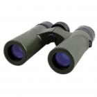 BIJIA12x27 Ultra-clear High-definition High-powered Night Vision Waterproof Binoculars - Army Green