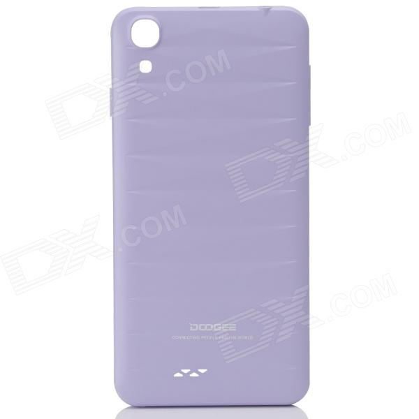 DOOGEE VALENCIA DG800 Replacement Battery Back Cover Case - Purple doogee valencia dg800 replacement battery back cover case white