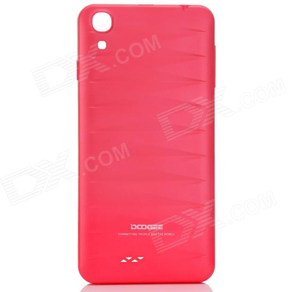 DOOGEE VALENCIA DG800 Replacement Battery Back Cover Case - Deep Pink оправа valencia оправа valencia 32014 с6