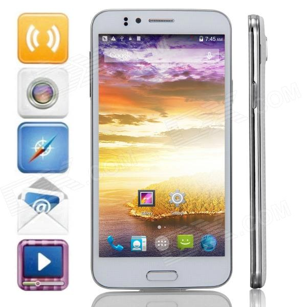 "JIAKE JK-720 MTK6592 Octa-Core Android 4.4.2 WCDMA Bar Phone w/ 5.0"" QHD, FM, GPS - White (OthersJIAKE) Torrance For sale ad"
