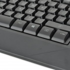 LS K1 104-Key USB Wired Gaming Keyboard w/ Back Light - Black