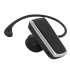 Wireless Single Channel Bluetooth V3.0 Earphone with Microphone - Black
