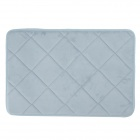 Soft Anti-skid Polyester Fibre + PU Foot Pad Cushion Mat - Blue