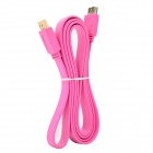 HDMI 1.4 Male to Male 1080P HD AV Cable for STB / TV Connection - Deep Pink (148cm)
