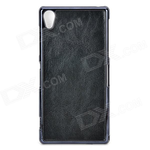 Protective PU + PC Back Case for Sony Xperia Z2 / L50w - Black 2 in 1 protective tpu pc back case for sony xperia z2 l50w white