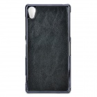 Protective PU + PC Back Case for Sony Xperia Z2 / L50w - Black