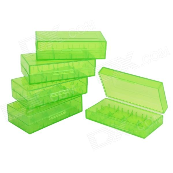Handy PP Storage Organizer Case for Battery / Electric Goods - Green (5 PCS) платье doctor e doctor e mp002xw1aqok