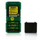 MASTECH MS6416 60m Electronic Laser Distance Meter / Rule - Black + Green