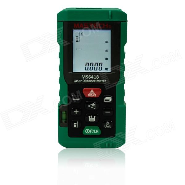 MASTECH MS6418 80m Electronic Laser Distance Meter / Rule - Black + Green hot selling 80m laser rangefinder mastech ms6418 laser distance meter