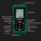 MASTECH MS6418 80m Electronic Laser Distance Meter / Rule