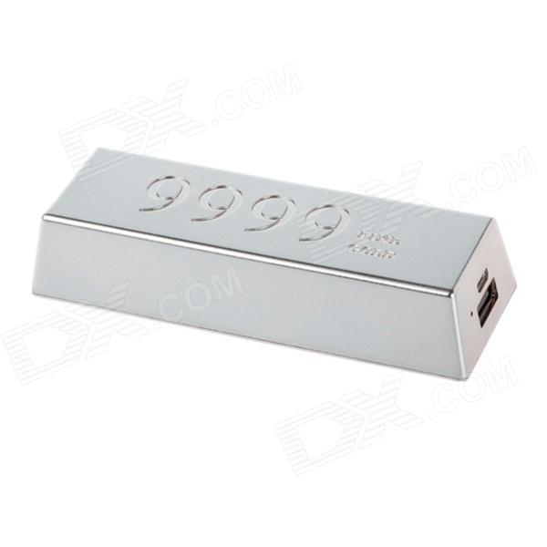 REMAX RM6666 Universal 6600mAh Li-ion Battery Power Bank - Silver - DXMobile Power<br>Color Silver Brand REMAX Model RM6666 Quantity 1 Piece Material ABS Compatible Models Universal Battery Type Li-polymer battery Nominal Capacity 6600 mAh Battery Actual Capacity 6600 mAh Capacity Range 6001mAh~7000mAh Input Voltage 5 V Output Current 1 A Output Voltage 5 V Other Features Cable length: 32cm Packing List 1 x Power bank 1 x Micro USB cable 1 x English user manual<br>