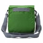 WindTour Stylish Outdoor Single-shoulder Chinlon Bag for Travel / Camping / Cycling - Green
