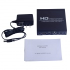 CVBS / AV / HDMI to HDMI 720P / 1080P HD Video Converter - Black + White