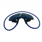 OUMILY B99-LANSE Rechargeable Sports Music Bluetooth V3.0 Headset w/ Microphone - Blue + Golden