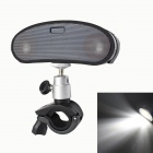 Bicycle 3W LED Lamp + Waterproof Bluetooth 3.0 Speaker w/ Ring Bell / Handsfree Call - Black