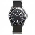 Genuine Germany Bergmann Hausser Classic Unisex Watch - Black