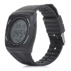 SHHORS SH-798 Water-resistant Outdoor Sports Digital Wristwatch - Black (1 x CR2016)