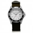 Genuine Bergmann Hausser Classic Unisex Watch - Black/white
