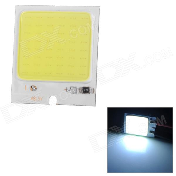 JRLED JR-LED-48L9V 3W 290lm 6500K 48-COB LED Cool White Light Module - Silver + Beige (DC 12V)