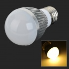 E27 5.5W 350LM 3000K 15-LED Warm White Light Lamp Bulb (AC 85~265V)