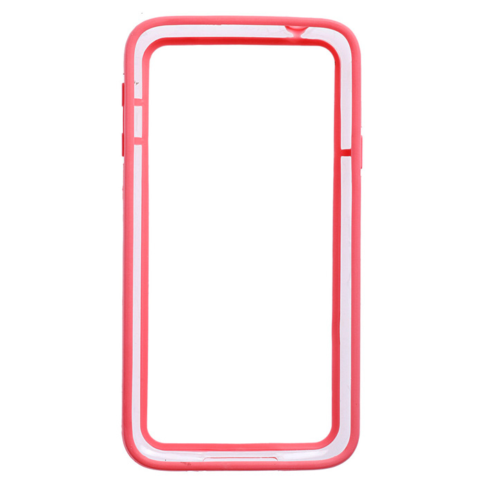 Protective Plastic Bumper Frame for Samsung Galaxy S5 - Pink repair parts replacement plastic middle plate frame for samsung galaxy s5 golden