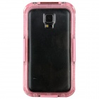 Professional Ultra-Thin Waterproof Dirtproof Shockproof Protective Case for Samsung Galaxy S5 - Pink