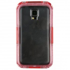 Professional Ultra-Thin Waterproof Dirtproof Shockproof Protective Case for Samsung Galaxy S5 - Red