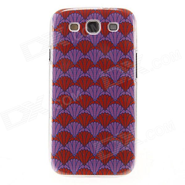Kinston Chrysanthemum Pattern Plastic Protective Hard Back Case Cover for Samsung Galaxy S3 i9300 kinston colorful flowers and butterflies pattern plastic protective case for samsung galaxy s3 i9300