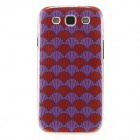 Kinston Chrysanthemum Pattern Plastic Protective Hard Back Case Cover for Samsung Galaxy S3 i9300