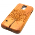 Tree Pattern Detachable Protective Wood Back Case for Samsung Galaxy S5