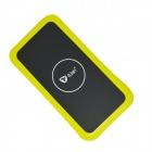 Itian K8 QI Standard Wireless Charger + Receiving Module for Samsung Galaxy S5 - Yellow