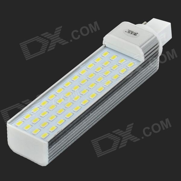 JRLED G24 14W 1200LM 6000K 48-5730 SMD LED White Light Bulb - White + Silver (AC 85~265V)