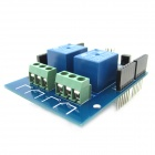 5V 2-Channel IR Relay Shield Expansion Board Module for Arduino With Infrared Remote Controller