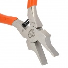 "WLXY WL-311 5.4"" Flat Nose Pliers Tool - Orange + Silver"
