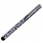Universal Aluminum Alloy Capacitive Touch Screen Stylus Pen - Grayish White