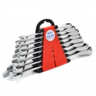 WLXY WL-1802 Ratchet Wrench Spanner Precise Tool Set for Car - Silver