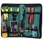 WLXY WL-29 Network / Telephone Wiring Installation Maintenance Tool Set - Green + Blue