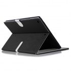 ENKAY Protective PU Leather Case Cover Stand w/ Auto Sleep for RETINA IPAD MINI / IPAD MINI - Black