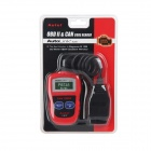 Autel AutoLink AL301 OBD II V1.4 Diagnostic Scanner - Black + Red
