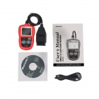Autel AutoLink AL319 OBD II V1.4 Diagnostic Scan Tool - Black + Red