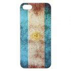 2014 FIFA World Cup Argentina National Flag Relief Painting PC Back Case for IPHONE 5 / 5S