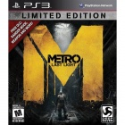 PS3 Metro: Last Light (Limited Edition) Video Game - Playstation 3