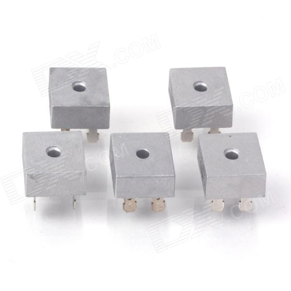 KBPC1010 10A 1000V Single-phase Bridge Rectifiers - Silver (5 PCS) saimi skdh145 12 145a 1200v brand new original three phase controlled rectifier bridge module