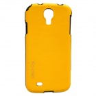 Genuine Ks idea CA-S4PTSYW Skinny Leather Case for SAMSUNG GALAXY S4 - Orange (Made in Korea)