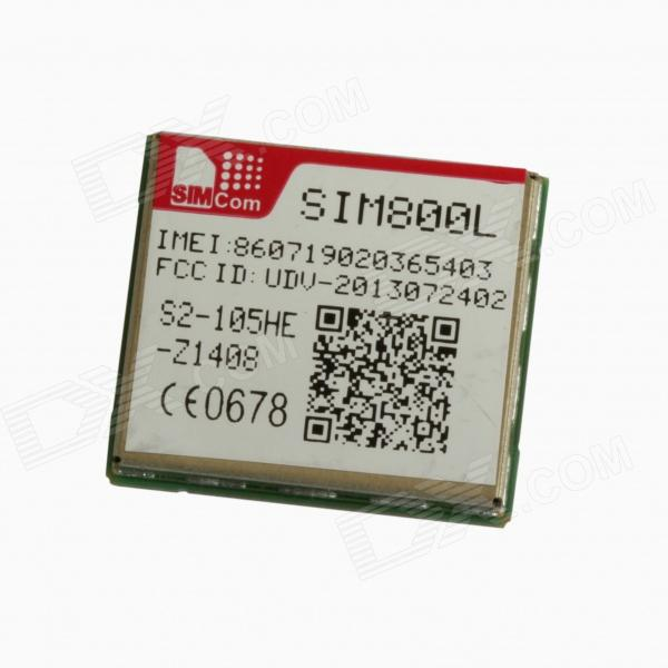 SIMCOM SIM800L Quad-band 850/900/1800/1900MHz GSM / GPRS Chip Module waveshare phone shield gsm gprs gps module for arduino stm32 support quad band 850 900 1800 1900mhz