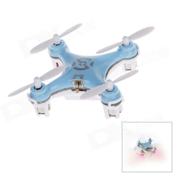 CX-10 2.4GHz 4-CH Mini R/C Remote Control Helicopter - Blue + White