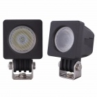 MZ 60 Degree Flood Square 10W 850lm Cree XM-L T6 Car Work Light Lamp Fog 4x4 Motorcycle Boat ATV